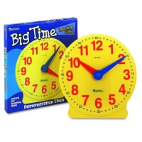 Ceasul clasei Learning Resources, 34 cm inaltime, 5 - 9 ani