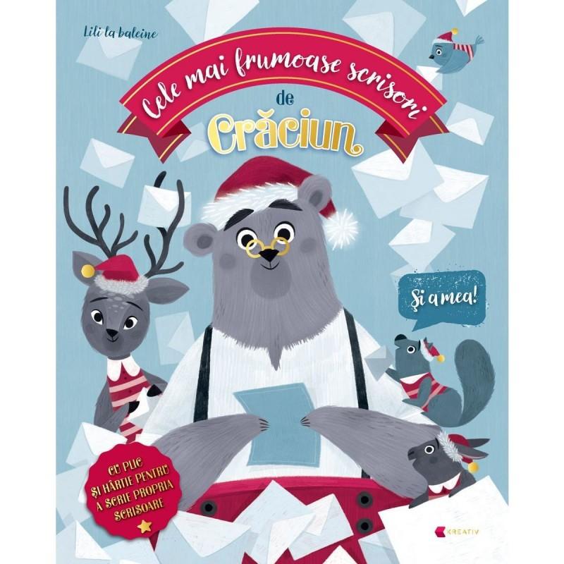 Carte pentru copii Cele mai frumoase scrisori de Craciun Editura Kreativ, 36 pagini, 3-10 ani 2021 shopu.ro