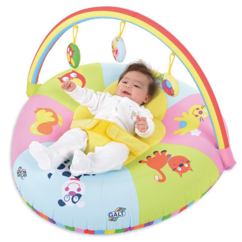 Centru de joaca si activitati pentru bebelusi Curcubeul vesel, gonflabil 2021 shopu.ro