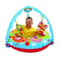 Centru de joaca si activitati pentru bebelusi Galt Ferma, 5 jucarii