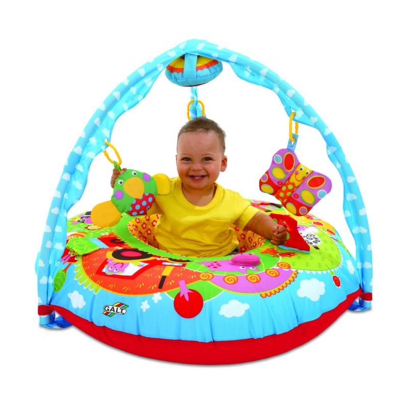 Centru de joaca si activitati pentru bebelusi Galt Ferma, 5 jucarii 2021 shopu.ro