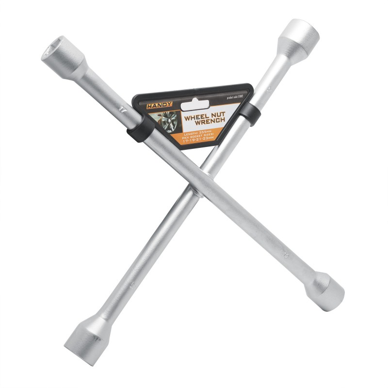 Cheie pentru roata auto Handy, 17/19/21/23 mm, tip T 2021 shopu.ro