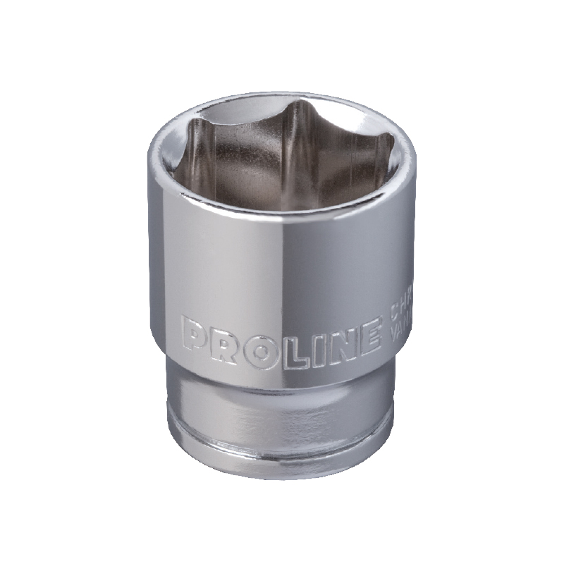 Cheie tubulara hexagonala Proline, 1/4 inch, 12 mm, otel aliaj crom-vanadiu 2021 shopu.ro