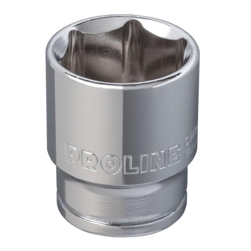 Cheie tubulara hexagonala Proline, 3/4 inch, 41 mm, otel aliaj crom-vanadiu