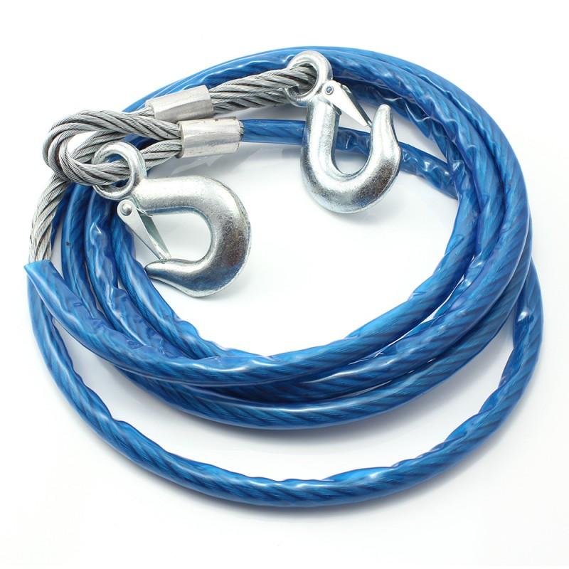 Cablu tractare Carguard, 5 tone, 4 m, otel 2021 shopu.ro