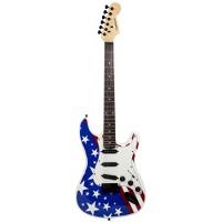 Chitara electronica Madison USA, 39 inch, corp din lemn
