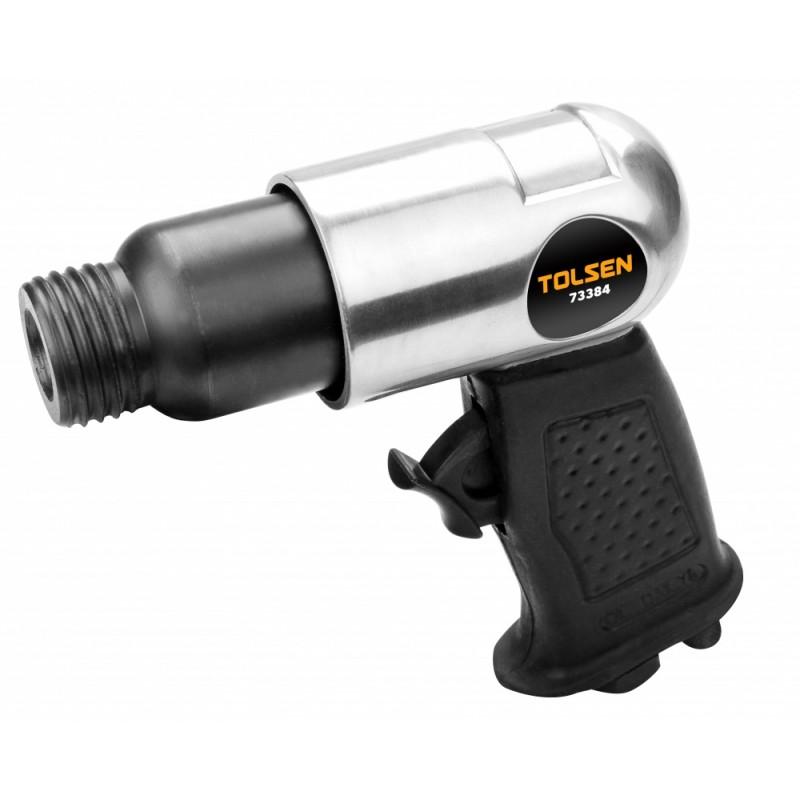 Ciocan cu aer comprimat Tolsen, 41 mm, 6.2 bar, 140 l/min, racord 3/8, 4500 bpm, 4 dalti incluse 2021 shopu.ro
