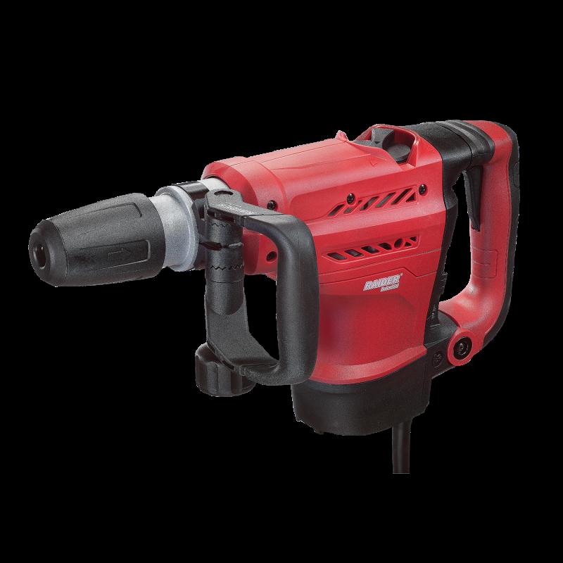 Ciocan rotopercutor Raider, 1200 W, 550 rpm, 2900 percutii/min, 20 J, mandrina SDS-max, maner auxiliar, LED 2021 shopu.ro