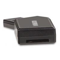 Cititor de card mini 24-in-1 Manhattan, USB 2.0, negru
