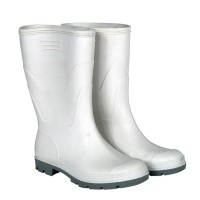 Cizme PVC captusite pentru protectie Kolmax, marimea 47, alb
