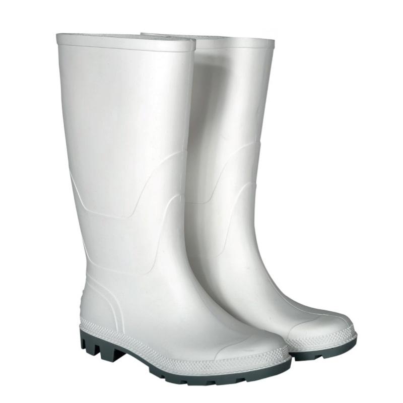 Cizme PVC pentru protectie Kolmax, marimea 45, alb 2021 shopu.ro