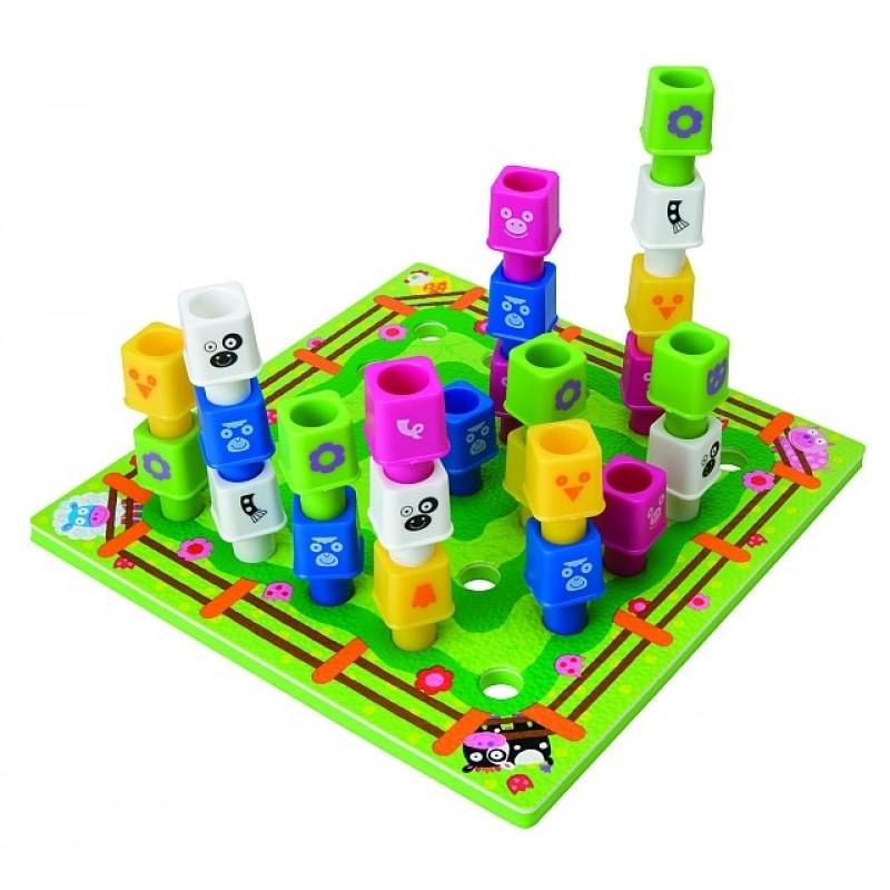 Cladeste propria ferma Alex Toys, maxim 2 jucatori, 25 de cuburi