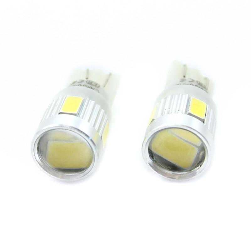 Set 2 becuri LED pentru iluminat interior/portbagaj Carguard, 2.5 W, 12 V, 180 lm, Alb xenon 2021 shopu.ro