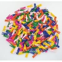 Clestisori de rufe colorati Playbox, 100 bucati