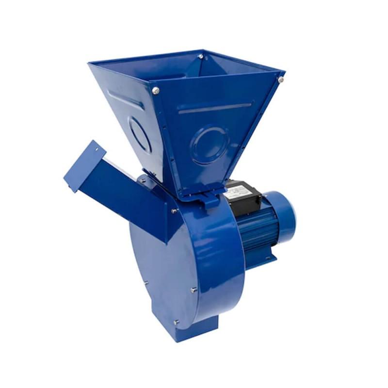 Moara pentru cereale si stiuleti, 3.5 kW, 350 kg/h, 3000 rpm, startor cupru, site incluse shopu.ro