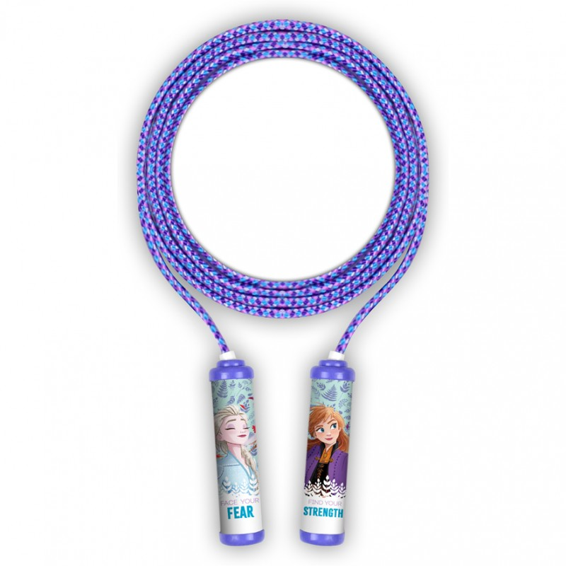 Coarda pentru sarituri Frozen 2 Seven, 220 cm, 3 - 10 ani, Mov 2021 shopu.ro