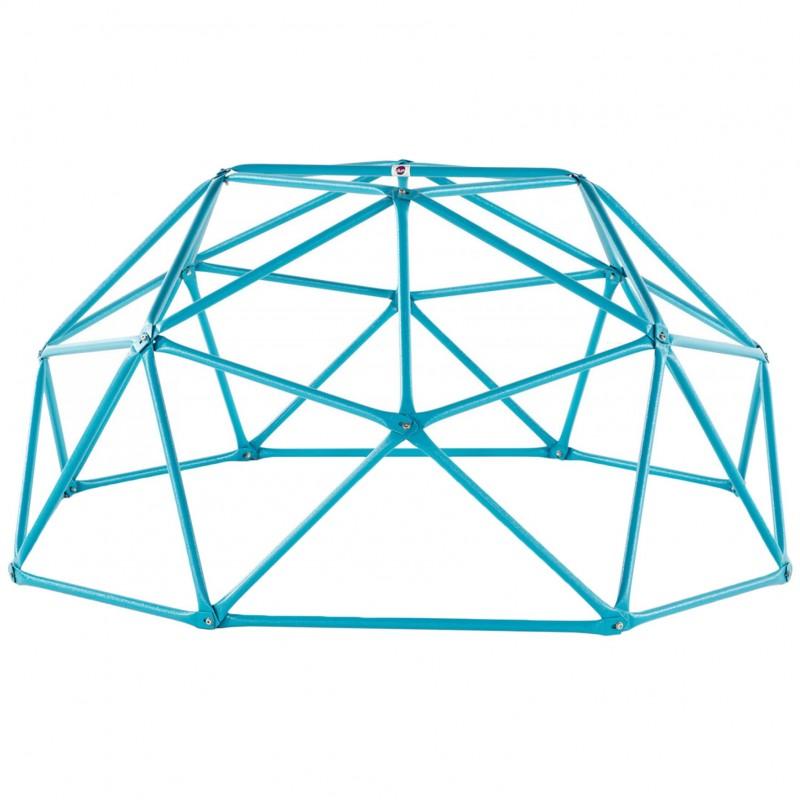 Complex de joaca Climbing Dome Plum, 190 x 190 x 90 cm, otel galvanizat, 3 ani+, Albastru