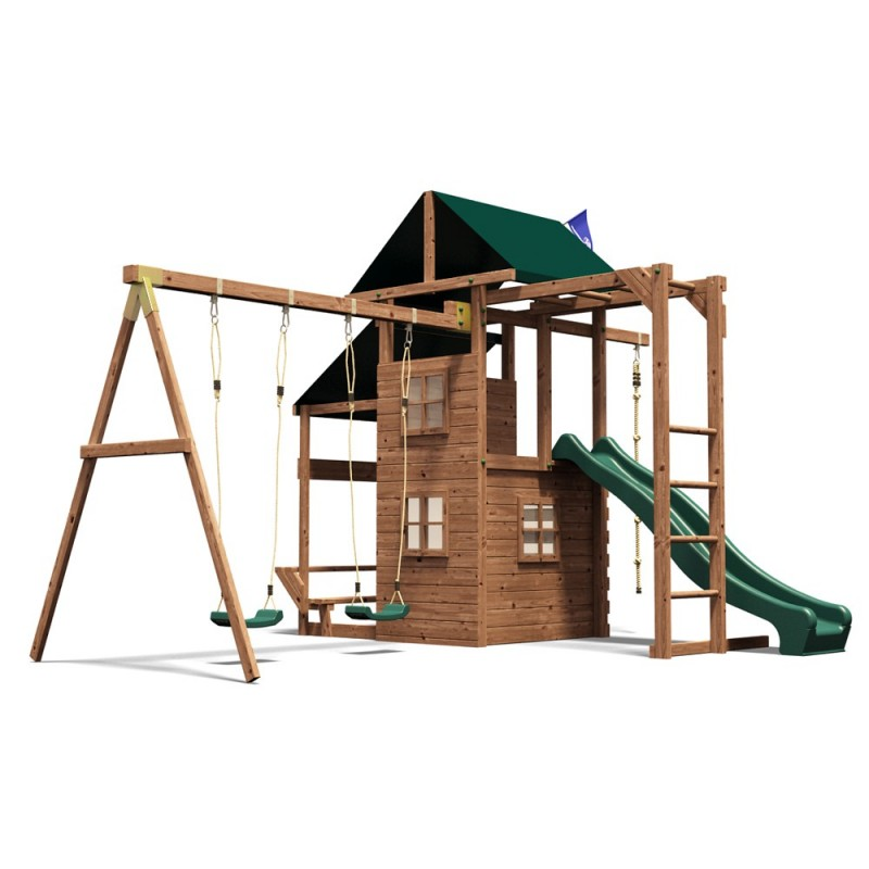 Complex de joaca ManorFort Stronghold Dunster House, 443 x 385 x 290 cm 2021 shopu.ro