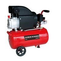 Compresor aer cu ulei Tryton, presiune 8 bari, putere 1500 W, capacitate 24 l