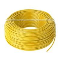 Cablu litat cupru tip LGY, 0.5 mm, 100 m, Galben