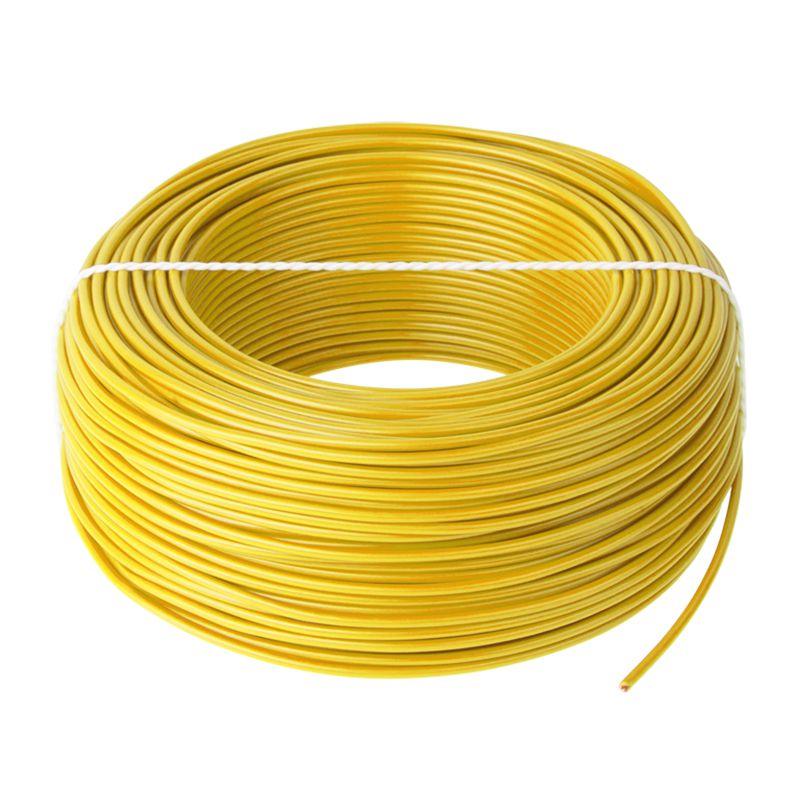 Cablu Conductor Cupru H05V-K 1X0.75, Rola 100 m, Galben 2021 shopu.ro