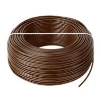Cablu litat cupru tip LGY, 0.5 mm, 100 m, Maro