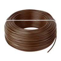 Cablu litat cupru tip LGY, 1.5 mm, 100 m, Maro