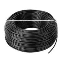Cablu litat cupru tip LGY, 2.5 mm, 100 m, Negru