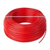 Cablu litat cupru tip LGY, 1 mm, 100 m, Rosu