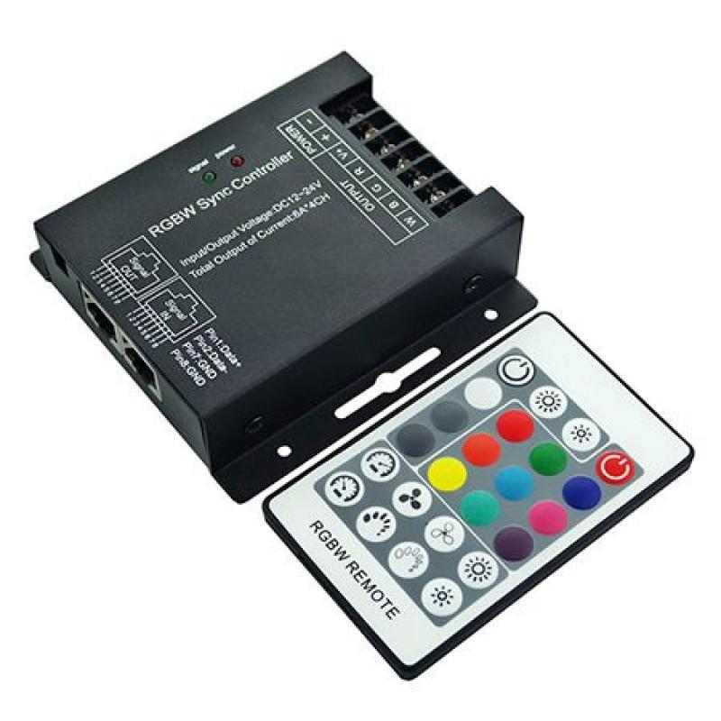 Controller banda LED cu dimmer, 12 V/24 V, 288/576 W shopu.ro