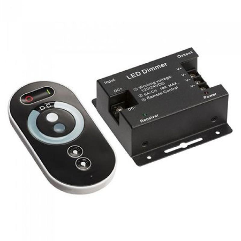 Controller banda LED dimabil, 12/24 V, 216/432 W, 3 canale culoare 2021 shopu.ro