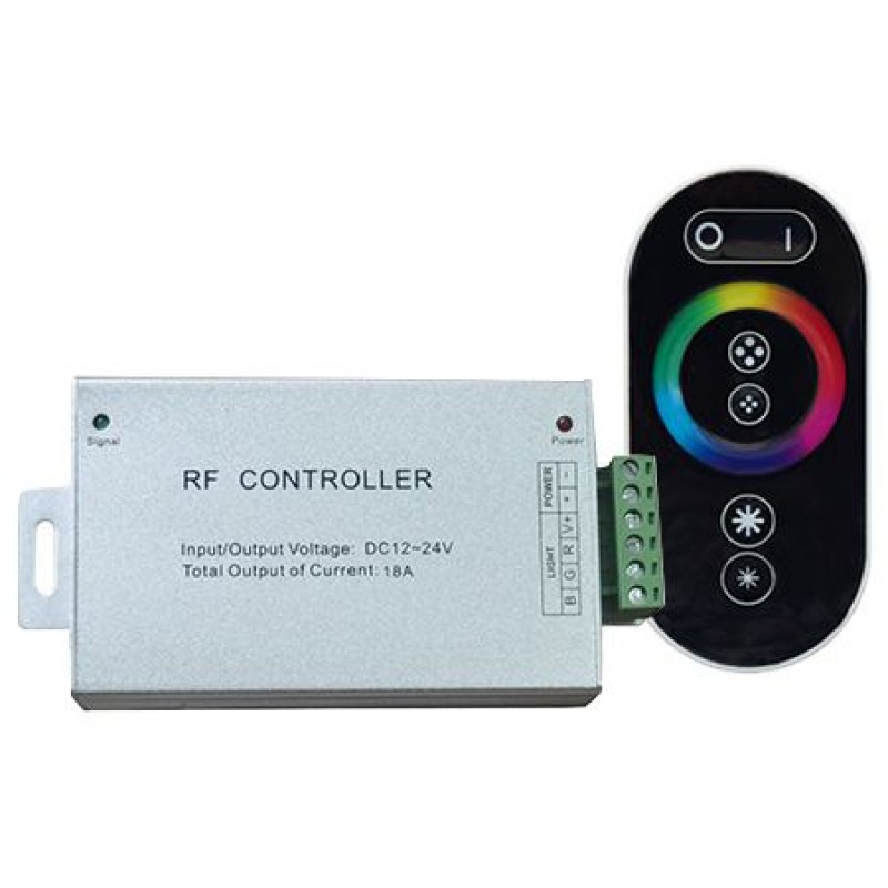 Controller banda LED RGB, 144 W, telecomanda touchscreen shopu.ro
