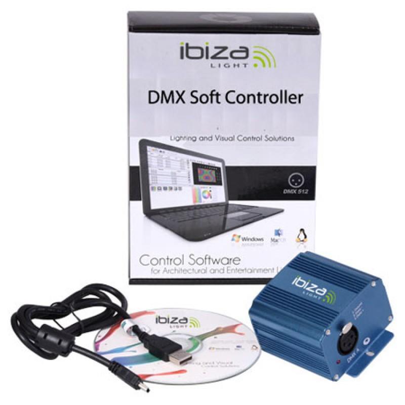 Controller DMX, 512 canale, mod autonom 132 canale, cititor CD, carcasa aluminiu 2021 shopu.ro