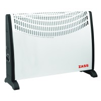 Convector electric Zass ZKH 02, 2000 W, alb