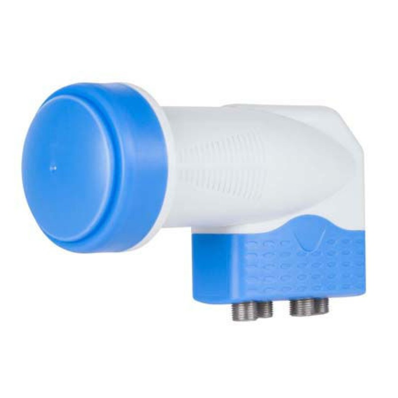 Convertor LNB Quattro Cabletechm 0.2 dB, diametru 40 mm 2021 shopu.ro