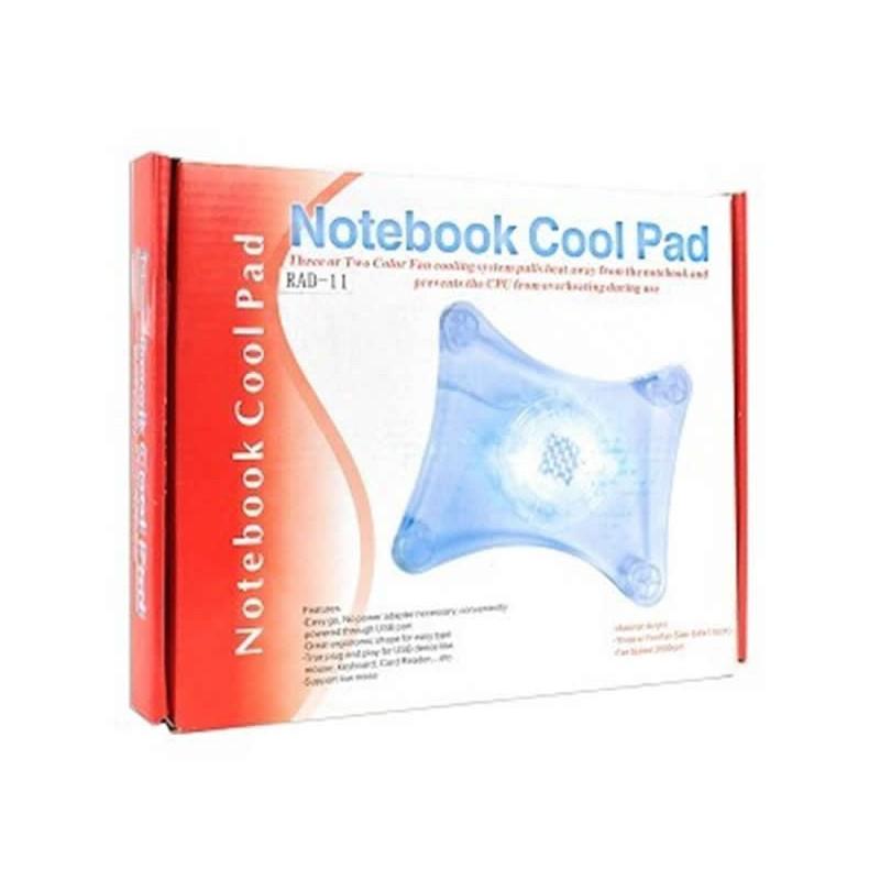 Mini cooler pentru laptop cu 1 ventilator