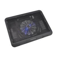 Cooler pentru laptop Wind Omega, 330 x 250 x 40 mm, 10-15.6 inch, plastic/ABS, cablu miniUSB