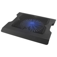 Cooler laptop Twister Esperanza, 1 x ventilator, 29 dB, 2400 rpm, Negru