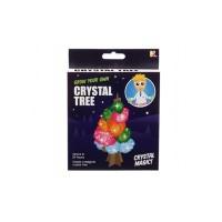 Copacul cu cristale Keycraft, baza de plastic, copac din carton, solutie pentru cristal, 10 ani+