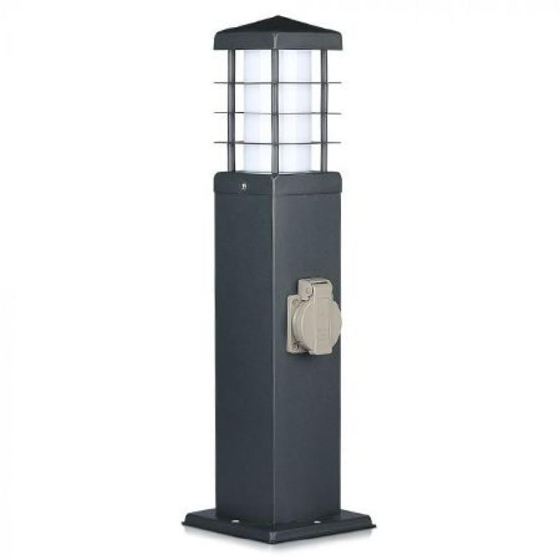Corp iluminat gradina, 13 W, 2 prize, protectie IP44, soclu E27 shopu.ro