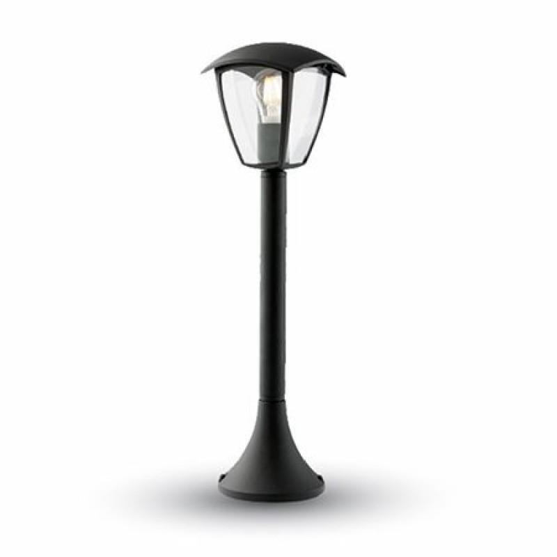 Corp iluminat gradina, soclu E27, 60 cm, negru shopu.ro