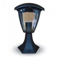 Lampa gradina, soclu E 27, 60 W, negru