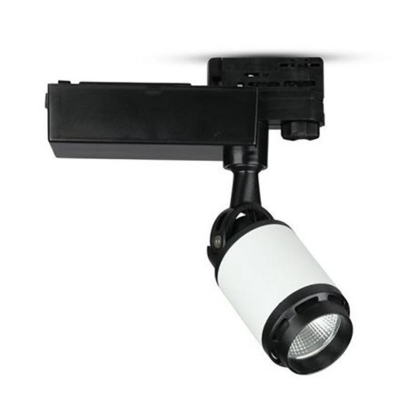 Proiector LED Tracklight V-Tac, 35 W, 6400 K, 2850 lm, lumina rece 2021 shopu.ro