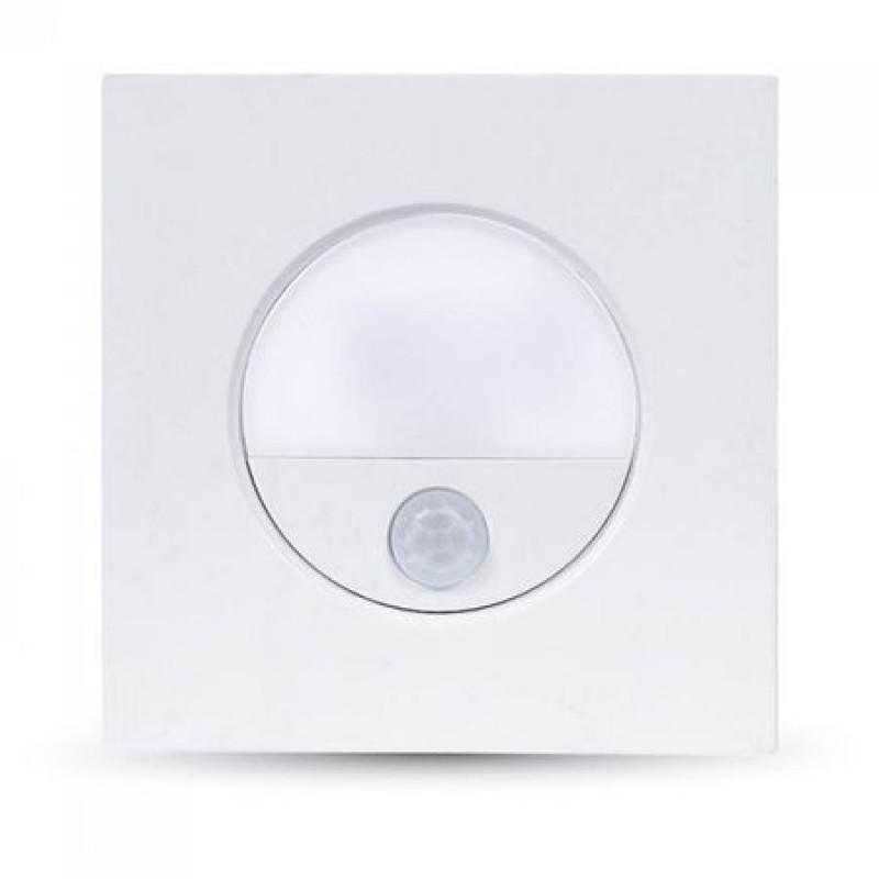 Aplica LED, 3 W, temperatura culoare alb neutru, senzor miscare, 100 lm 2021 shopu.ro