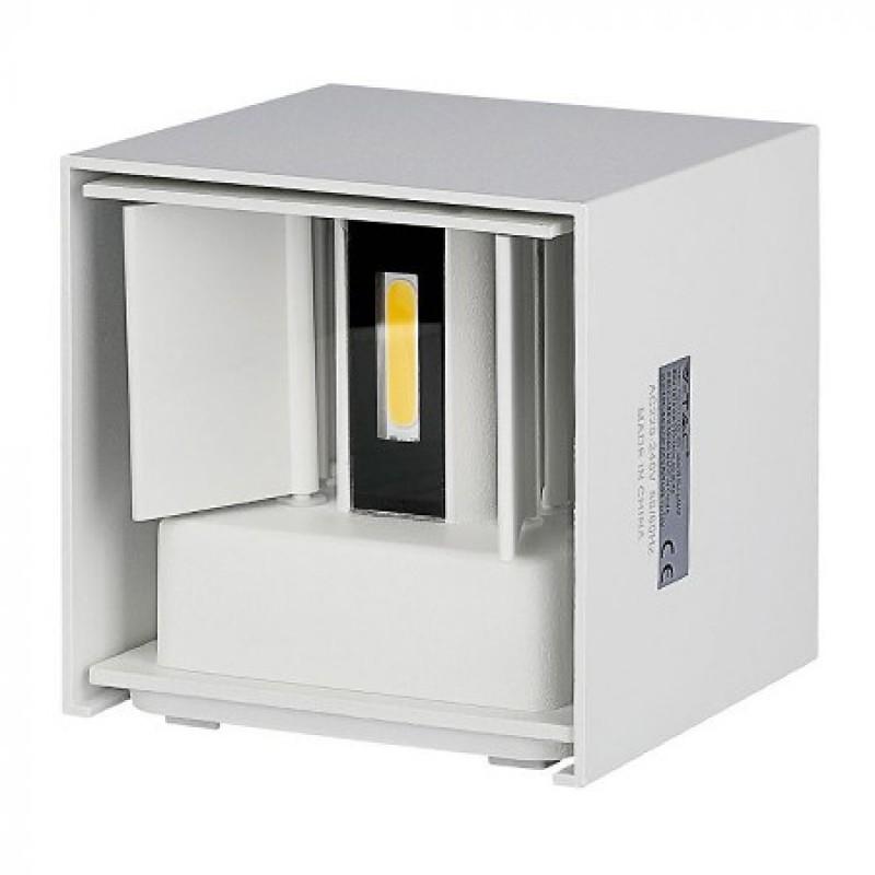 Corp Iluminat LED V-Tac, 6 W, 4000 K, IP65, 6600 lumeni, Alb shopu.ro