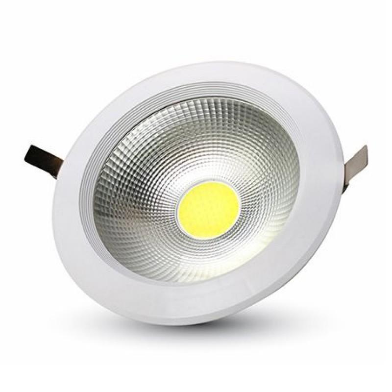 Spot LED incorporabil, 10 W, temperatura culoare alb cald, 1200 lm, alb 2021 shopu.ro