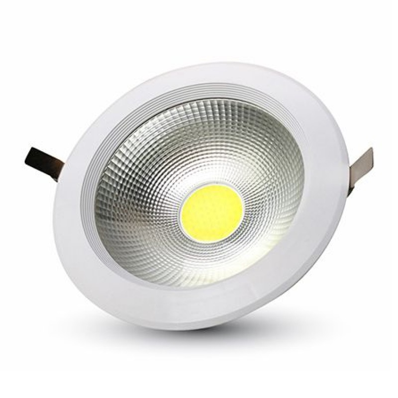 Spot LED incorporat, 30 W, lumina alb neutru, 3600 lm, alb 2021 shopu.ro
