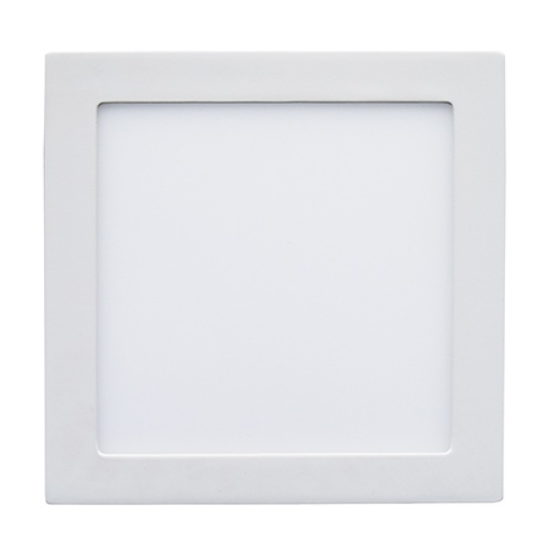 Aplica LED patrata incorporabila, 18 W, temperatura culoare alb neutru 2021 shopu.ro