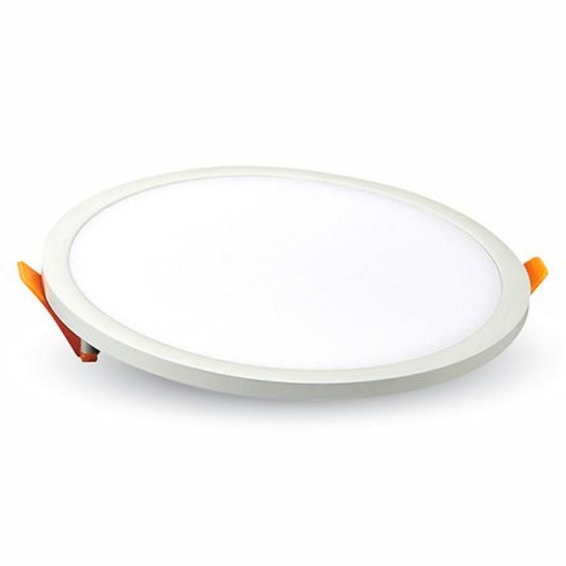 Aplica LED rotunda incorporabila, 22 W, 1500 lm, temperatura alb rece 2021 shopu.ro