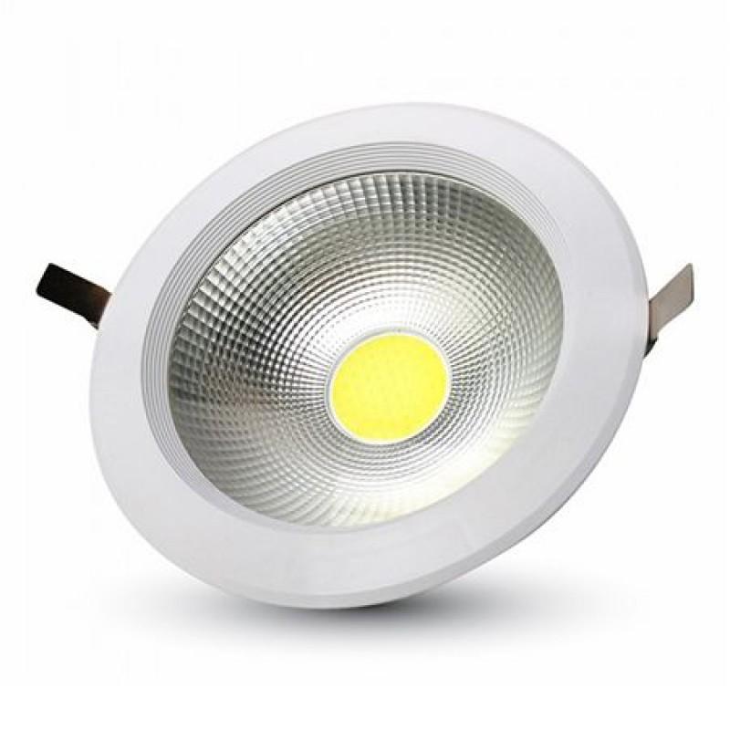 Spot LED, 20 W, temperatura culoare alb rece, 1500 lm, alb